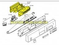 Модуль (плата) управления в сборе Bosch Siemens 264877 для посудомоечной машины