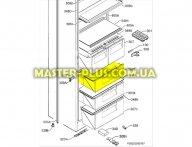 Ящик верхний морозильной камеры Electrolux  2651104016  для холодильника