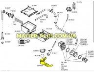 Патрубок от бака к насосу  Bosch 266059 для стиральной машины