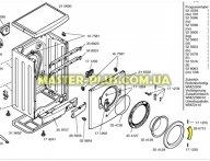 Ручка дверки (люка) Bosch Siemens 266751