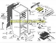 Модуль (плата) Bosch 267661 для холодильника