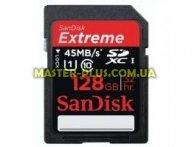 Карта памяти SANDISK 128GB SDXC Extreme Plus Class 10 UHS-I (SDSDXS-128G-X46) для компьютера
