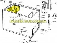 Корзина морозильной камеры Electrolux 2914551003 для холодильника