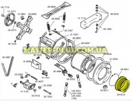 Резина (манжет) люка Bosch 296514 для стиральной машины