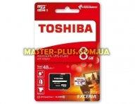 Карта памяти TOSHIBA 8GB microSDHC Class 10 UHS| (THN-M301R0080EA) для компьютера
