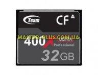 Карта памяти Team Compact Flash 32GB 400x (TCF32G40001) для компьютера