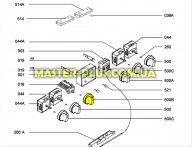 Ручка регулировки газовой плиты Electrolux 3303563997 для плиты