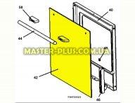 Стекло двери внешнее Electrolux 3428341279 для плиты