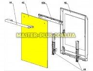 Внешнее стекло дверцы для плиты Electrolux 3428369015 для плиты