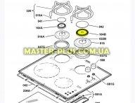 Рассекатель большой Electrolux 3540136060 для плиты