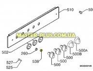 Пластиковая шайба между ручкой и шкалой плиты Electrolux 3556125064