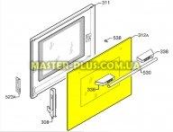 Наружное стекло дверцы для Плиты Electrolux 3578503454 для плиты