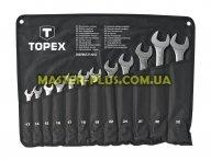 Ключі комбіновані 13-32мм, набір 12шт TOPEX 35D758 для ручного інструмента