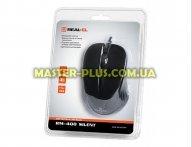 Мышка REAL-EL RM-400 Silent, USB, black для компьютера