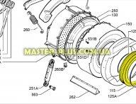Резина (манжет) люка  Electrolux  1240167542 для стиральной машины