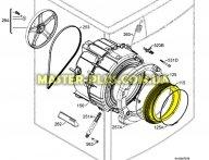 Резина (манжет) люка Electrolux 3790201408 для стиральной машины