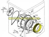 Резина (манжет люка) Electrolux 3790201408 не оригинал для стиральной машины