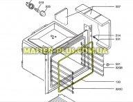 Уплотнитель двери AEG 3871945105 для плиты