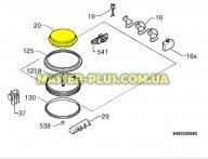 Електрическая конфорка Electrolux 3890853058 для плиты