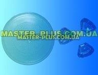 Тарелка 255 мм под куплер (грибочек). для микроволновой печи