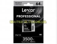 Карта памяти Lexar 64Gb Compact Flash 3500x Professional (LC64GCRBEU3500)
