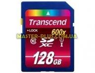 Карта памяти Transcend 128Gb SDXC class 10 UHS-I Ultimate (TS128GSDXC10U1) для компьютера