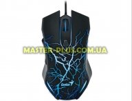 Мышка Genius X-G300, USB, Gaming, illumination, Black (31040001100)
