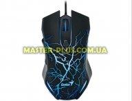 Мышка Genius X-G300, USB, Gaming, illumination, Black (31040001100)