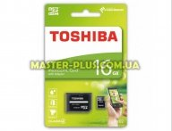 Карта памяти TOSHIBA 16GB microSDHC Class 4 (THN-M102K0160M2) для компьютера