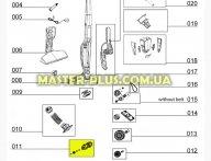 Валик турбощетки Electrolux 4055061487 для пылесоса