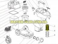Фильтр (Hepa) Zanussi 4055091286 для пылесоса