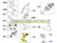 Шланг турбощетки Electrolux 4055093761
