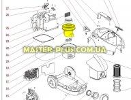 Мотор Пылесоса Zanussi 4055119178 для пылесоса