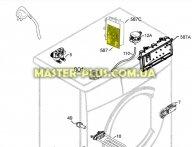 Модуль (плата управления) Zanussi 4055125829 для стиральной машины