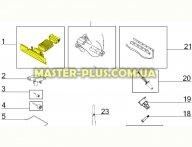 Крепление щетки с патрубком Electrolux 4055183281 для пылесоса