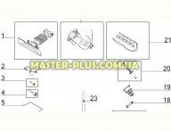 Колесико щетки маленькое Electrolux 4055183604 для пылесоса
