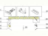 Колесико щетки большое Electrolux 4055183612 для пылесоса