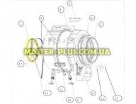Шкив стиральной машины Electrolux 4055210761 для стиральной машины
