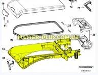 Загрузочный люк Electrolux  4055233714  для стиральной машины