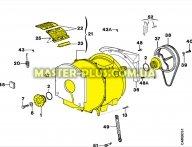 Бак в сборе Electrolux 4071343331 для стиральной машины
