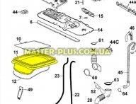 Резина (манжет) люка Zanussi 4071374146 для стиральной машины