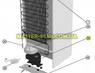 Компрессор холодильника Zanussi 4071423869 для холодильника