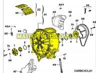 Бак в сборе Zanussi 4071424230 для стиральной машины