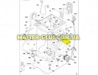 Дозатор (бункер) порошка для Стиральной машины Candy 41013614 для стиральной машины