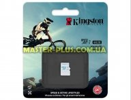 Карта памяти Kingston 64GB microSD class 10 UHS-I U3 (SDCAC/64GBSP)