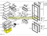 Ящик нижний морозильной камеры Bosch 434496