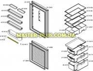 Декоративная планочка для Холодильника Bosch Siemens 439159