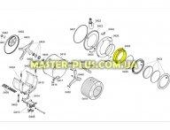 Резина (Манжет) люка Bosch 446225 для стиральной машины