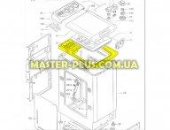 Верхняя пластиковая рамка Candy 46002171 для стиральной машины