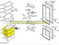 Ящик средний (морозильной камеры)  Холодильника Bosch Siemens 477015
